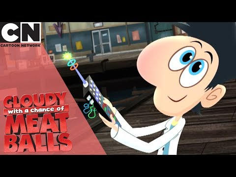 Cloudy with a Chance of Meatballs | Flint's many Fathers | Cartoon Network