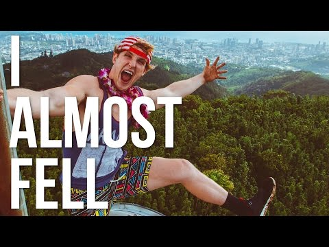 ILLEGALLY CLIMBED TO THE HIGHEST POINT IN HAWAII!