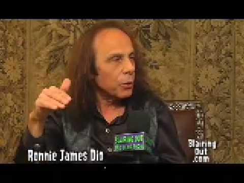 Ronnie James Dio talks to Eric Blair part 3