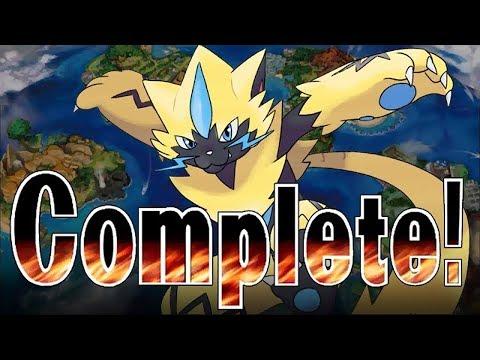 Pokémon Generation 7 IS FINISHED! Pokemon...