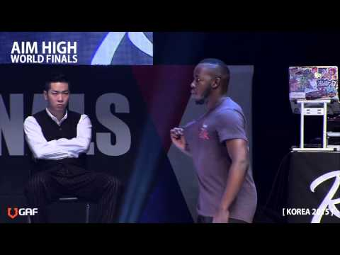 AIM HIGH KOREA 2015 / Semifinal - Street battle 2 / Keenen vs Poppin Prince
