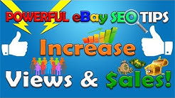 POWERFUL eBay SEO Tips For Finding Better eBay Keywords / eBay Tags