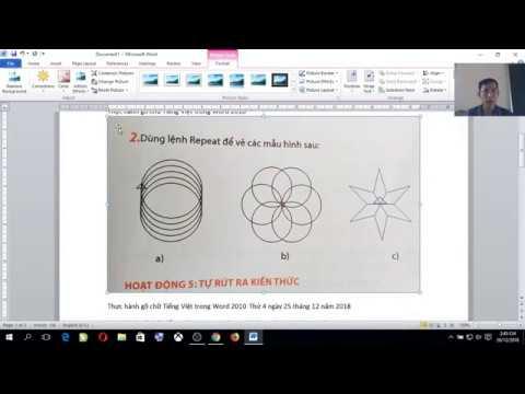 Lớp 4_Bài 24_Chèn biểu tượng và hình ảnh trong word 2010