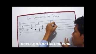 La Ligadura de Valor Lectura Ejecucion Curso de Teoría musical solfeo rezado Clase 22 Diego Erley