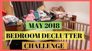 MAY DECLUTTER CHALLENGE || TODDLER BEDROOM || EXTREMLY CLUTTERED