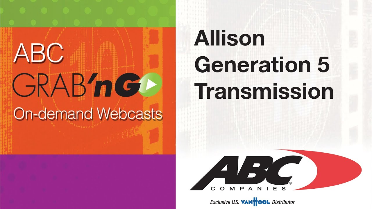 Allison Transmission Generation Models Explained - Diesel Laptops Blog