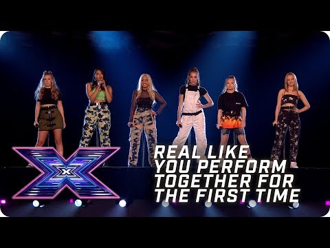 Real Like You perform together for the FIRST TIME | X Factor: The Band | The Final