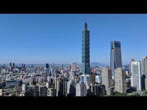Pixel 2 xl handheld footage, hiking Elephant Mountain at Taipei