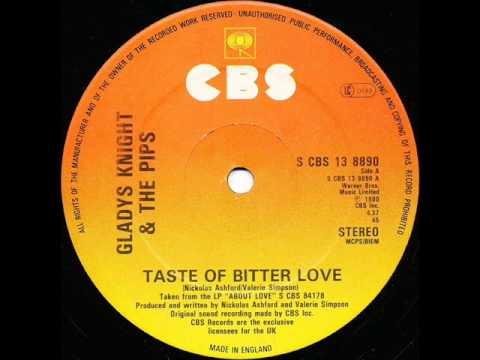 Gladys Knight & The Pips ‎-Taste Of Bitter Love