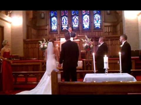 priest sings opera song at wedding lmfao youtube