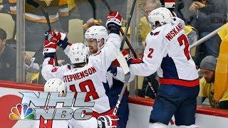 Washington Capitals eliminate defending champion Penguins I NHL I NBC Sports