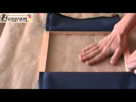cadre d 39 habillage fermeture clair de blouson pr013 youtube. Black Bedroom Furniture Sets. Home Design Ideas