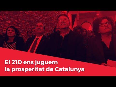 El 21D ens juguem la prosperitat de Catalunya