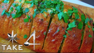 How To Make Garlic Bread - 4 Ingredients