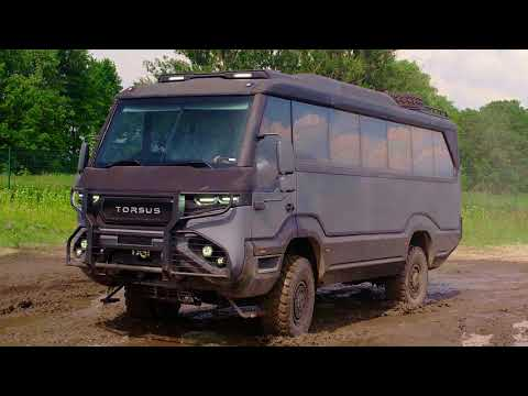 Torsus Overlander is sheer off-road camping bus awesomeness
