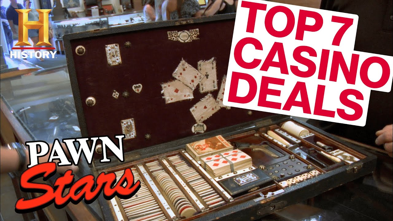 Pawn Stars: 7 JACKPOT CASINO ITEMS (and Illegal Cheating Devices) | History