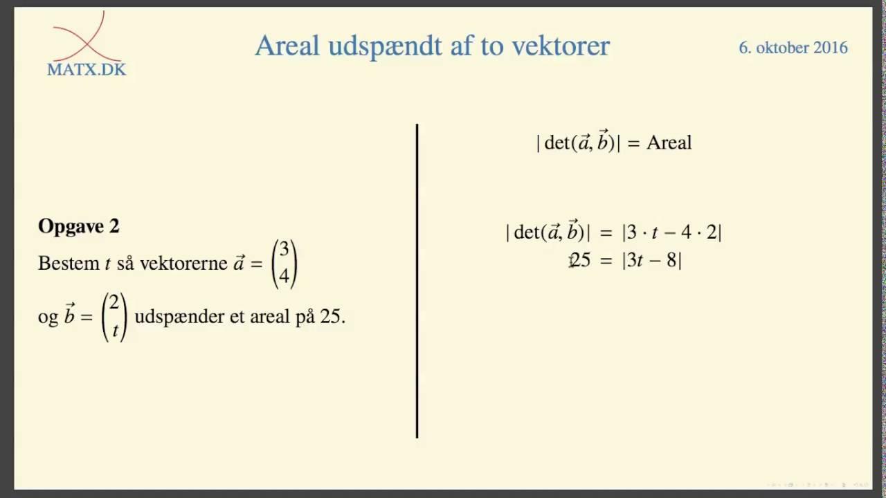 areal af trekant vektor