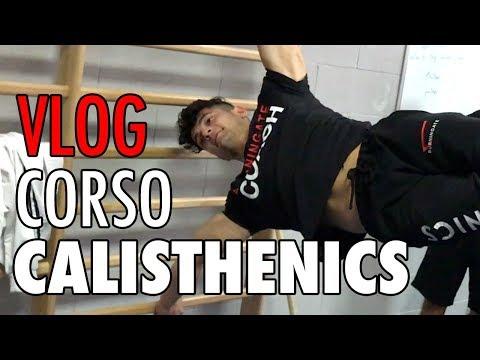 VLOG CORSO BASE CALIATHENICS MONZA - BELLISSIMO CORSO!