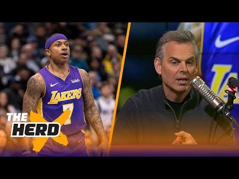 Colin Cowherd reacts to Isaiah Thomas saying he 'felt like he got his powers back' | THE HERD