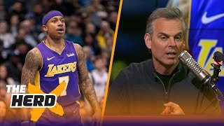 Colin Cowherd reacts to Isaiah Thomas saying he