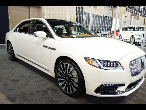 2017 Lincoln Continental Luxury Sedan
