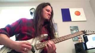 mastodon iron tusk leviathan guitar cover dimarzio titan metal