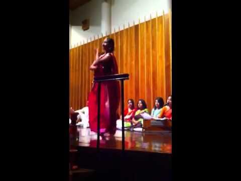Ghate Lagaiya Dinga. Lubna Abedin is dancing. Pohela Boishak. St. Louis
