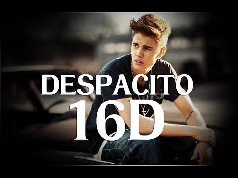 Despacito | Justin Bieber | Luis Fonsi | 16d Version | [ Headphones Recommended ]