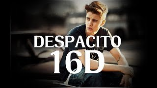 Despacito | Justin Bieber | Luis fonsi | 16d Version | [ Headphones recommended ]