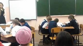 Гатауллина Лилия Шайхуловна, учитель английского . языка, урок в 4 классе. Республика Татарстан
