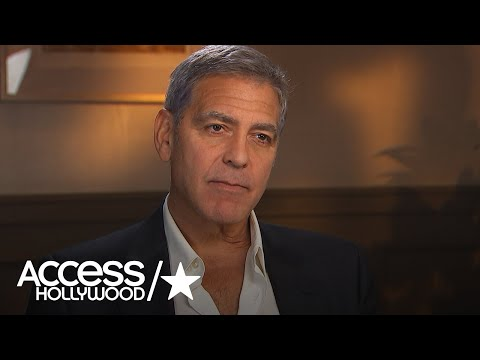 George Clooney Says Wife Amal Clooney Has Dealt With Sexual Harassment In The Workplace