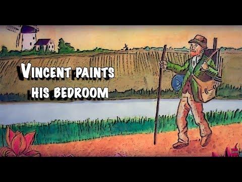 Vincent paints his bedroom in Arles