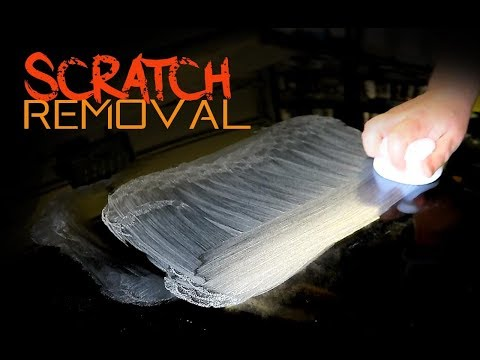 How to remove scratches from a car by hand