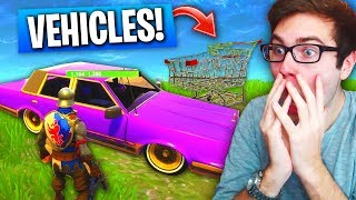 Secret VEHICLES *LEAKED* In Fortnite: Battle Royale! (Everything You Need To Know) - New Update
