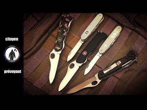 le couteau suisse victorinox est le couteau idéal pour le citoyen prévoyant