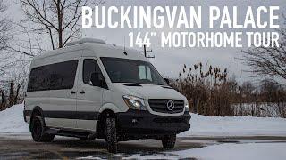 "Buckingvan Palace Tour | Full-Time 144"" Sprinter Motorhome"
