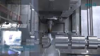 Complete Machining with the M30-G MILLTURN