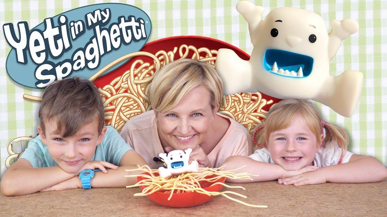 Yeti in My Spaghetti, gra zręcznościowa, TM Toys
