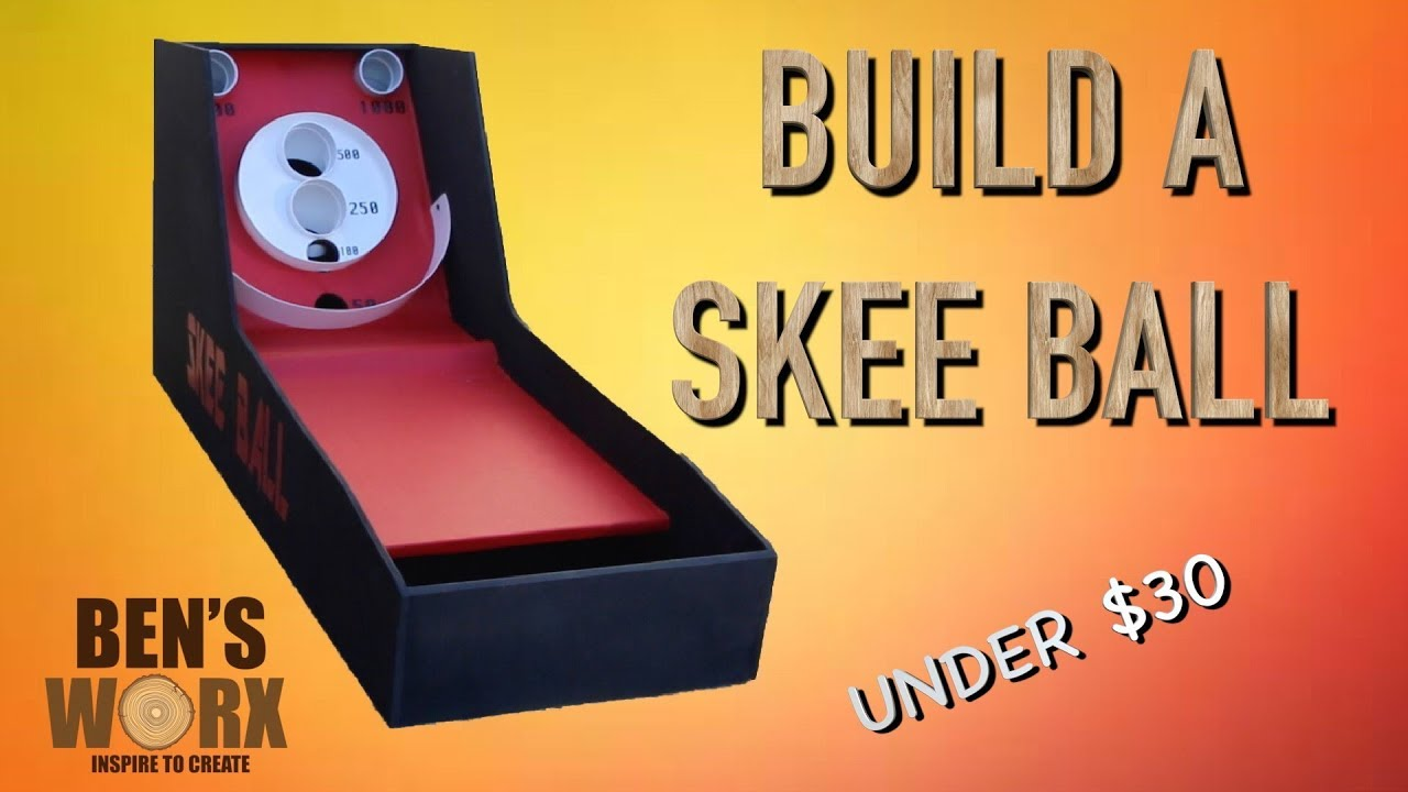 BUILD A SKEE BALL FOR $30 **ARCADE GAMES** - YouTube on baseball golf, hockey golf, plinko golf,