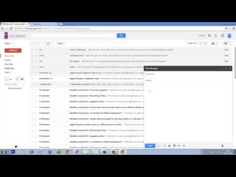 Create an Email Template In Gmail No html No coding