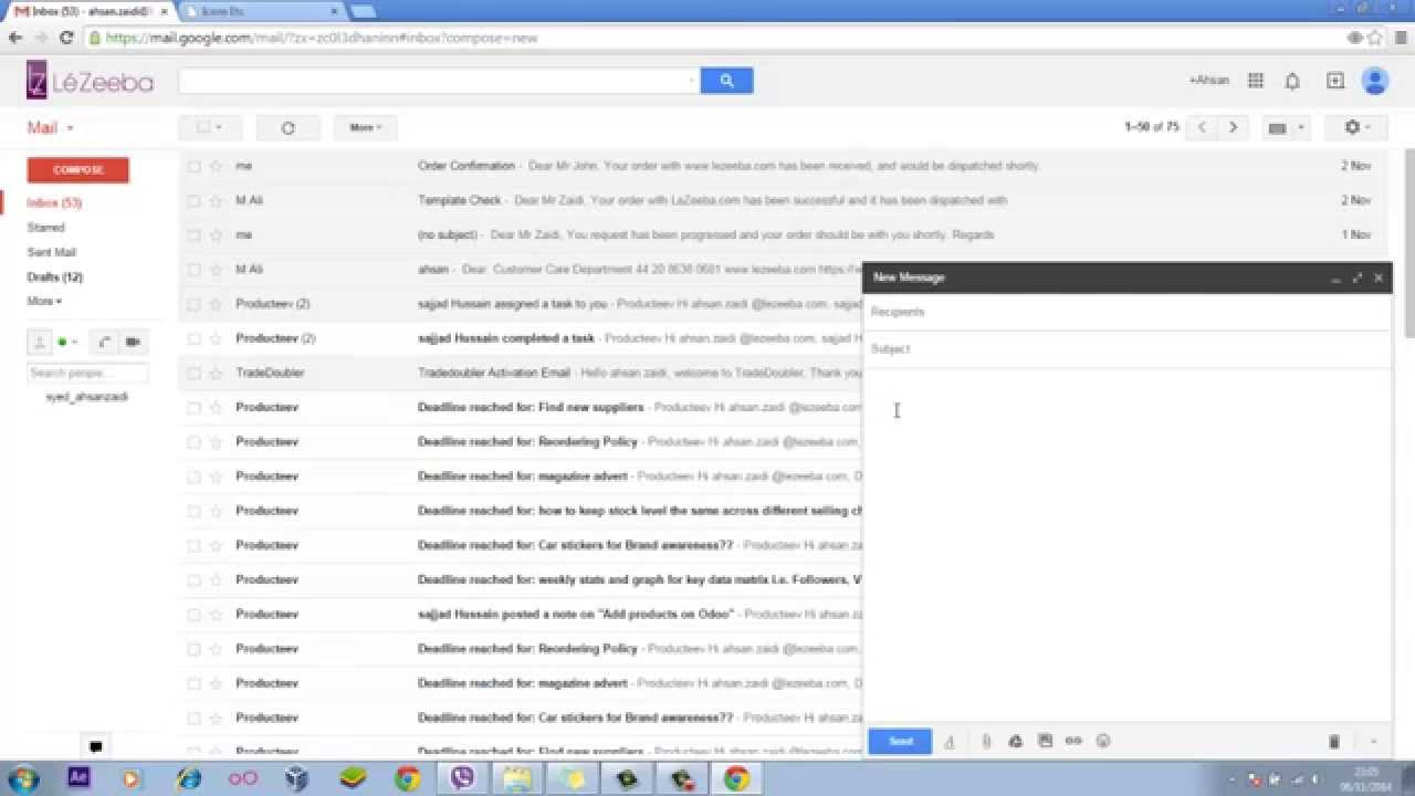Fake Email Template | Create An Email Template In Gmail No Html No Coding Youtube
