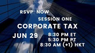 【Promotions】 Corporate Tax Strategies @ All About Cross-Border Tax Planning Series | Jun 29, 2021