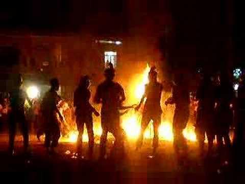 Đêm đốt lửa trại tại trường Phan Bội Châu- Cam Ranh (2)