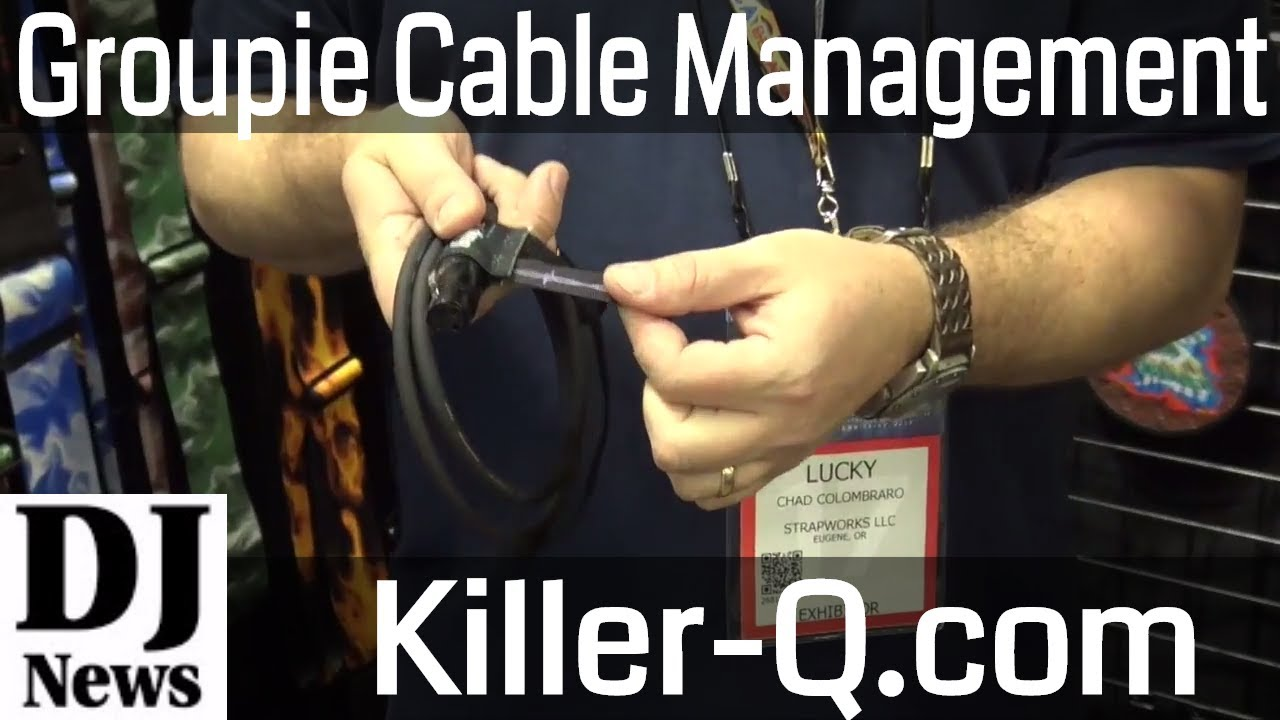 The Groupie Killer-Q Cable Management System For DJs and Bands | Disc  Jockey News
