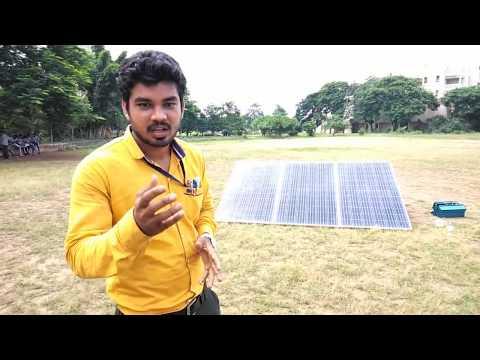 Solar system Installation in Hindi