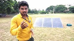 Solar system Installation in Hindi