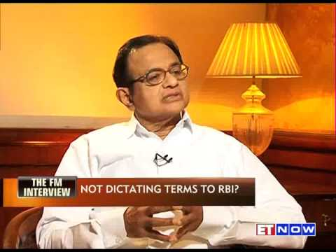 P CHIDAMBARAM: ONUS ON RBI OR GOVT?