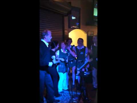 Bill Murray sings @ CaddyShack for karaoke fun.