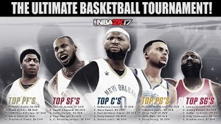 Which NBA Position has the Most DOMINANT Players? The ULTIMATE NBA Playoffs! NBA 2K17 MYLEAGUE