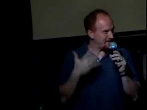 "Louis CK standup clip at ""Cinema Classics in NYC 8/3/04"
